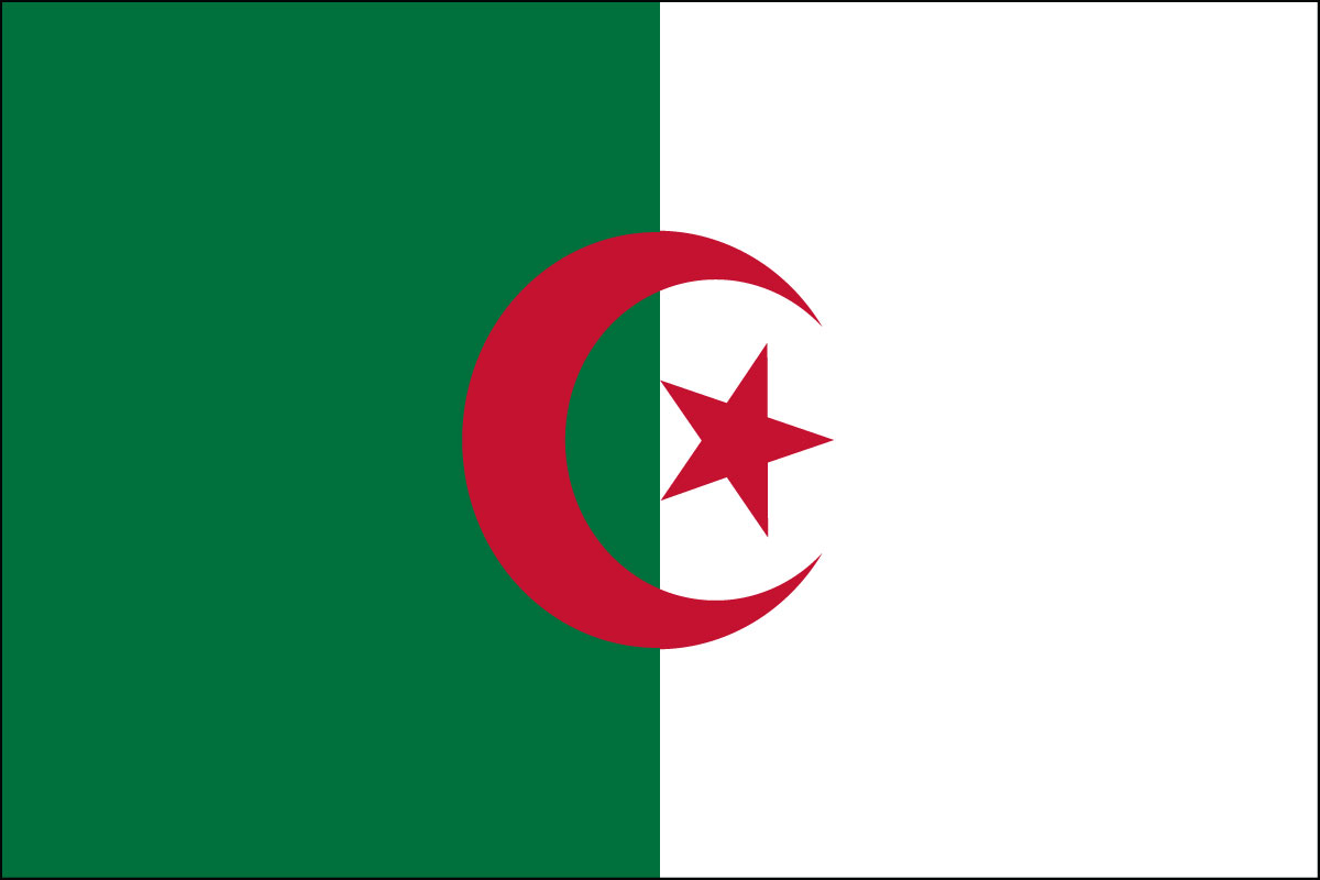 "4x6"" flag of Algeria"