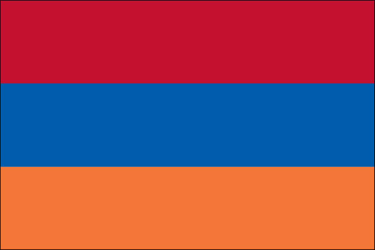 "4x6"" flag of Armenia"