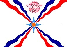 2x3' Poly flag of Assyria