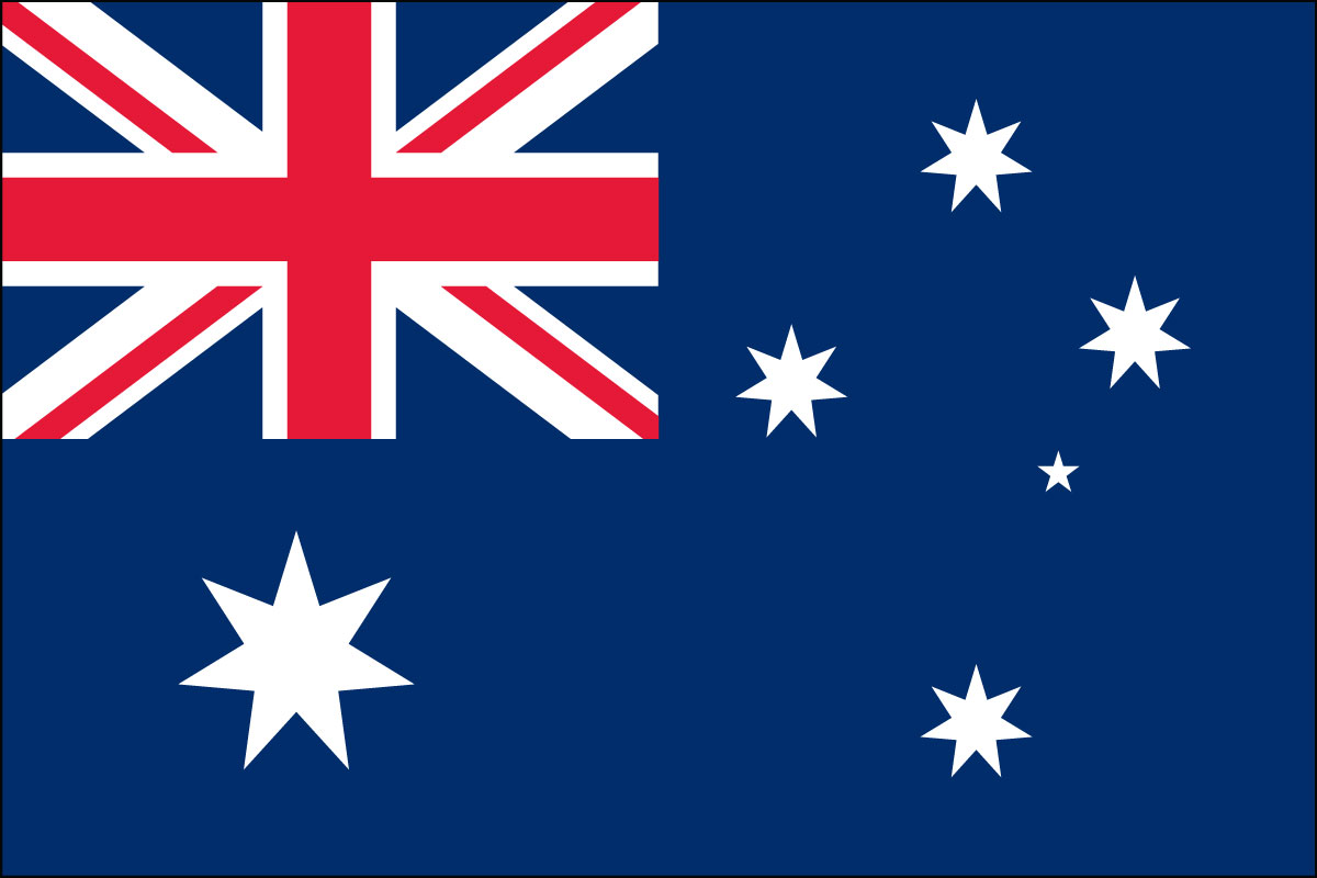 3x5' Nylon flag of Australia